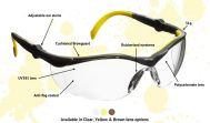 GT Adjustable Safety Glasses
